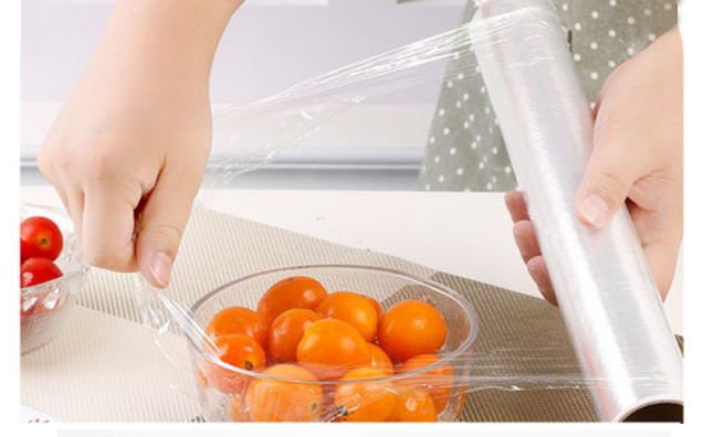 PE cling film for food