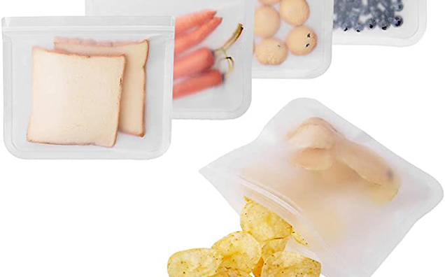 Plastic zipper seal snack bags for these popular trends